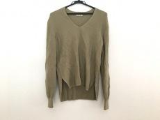 AURALEE(オーラリー) 長袖セーター サイズ1 S レディース カーキ