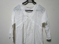 DKNY(ダナキャラン) ワンピース レディース美品  白 シースルー