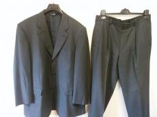 ブルックスブラザーズ シングルスーツ メンズ ダークグレー×黒