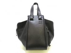 LOEWE(ロエベ) ハンドバッグ美品  ハンモックスモール 387.30.N60 黒