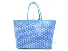 GOYARD(ゴヤール) トートバッグ美品  サンルイPM ブルー