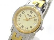 HERMES(エルメス) 腕時計 クリッパー - レディース アイボリー