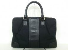 COACH(コーチ) ビジネスバッグ F71545 黒 ナイロン×レザー