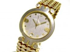 ハリーウィンストン 腕時計 シグネチャー - メンズ 金無垢 シルバー