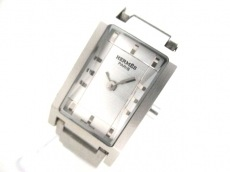 HERMES(エルメス) 腕時計 - - レディース シルバー