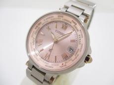 シチズン 腕時計美品  クロスシー H240-T018238 レディース ピンク