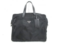 PRADA(プラダ) ビジネスバッグ美品  - V361S 黒 ナイロン