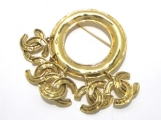 CHANEL(シャネル) ブローチ 金属素材 ゴールド ココマーク