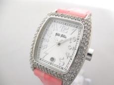 FolliFollie(フォリフォリ) 腕時計美品  - レディース 白
