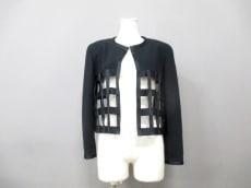 シャネル ジャケット サイズ38 M レディース美品  黒 肩パッド