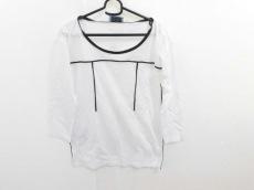 PRADA(プラダ) 七分袖カットソー サイズXS メンズ美品  白×黒