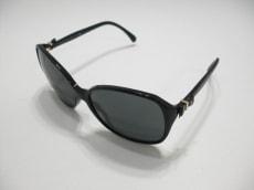 シャネル サングラス 5205-A 黒×ゴールド リボン/ココマーク