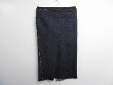 オーラリー ロングスカート サイズ1 S レディース ネイビー×白