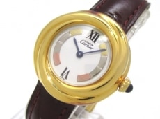 カルティエ 腕時計 トリニティ ヴェルメイユ W1010744 レディース 白