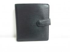 ルイヴィトン 2つ折り財布 エピ美品  ポルト ビエ・コンパクト