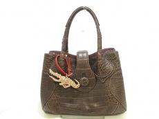 CIVINILE(チビナイル) ハンドバッグ美品  シャルロット クロコダイル