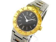 ブルガリ 腕時計 ブルガリブルガリ BB23SG レディース K18YG×SS 黒