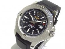 BREITLING(ブライトリング) 腕時計美品  コルト A17388 メンズ 黒