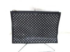 サンローランパリ クラッチバッグ美品  365357 黒 レザー