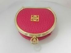 GIVENCHY(ジバンシー) コインケース美品  ピンク レザー