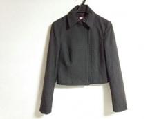 Kiton(キートン) ジャケット サイズ42 L レディース 黒 ジップアップ