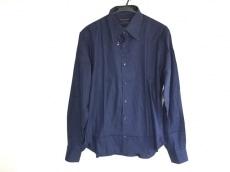 PRADA(プラダ) 長袖シャツ サイズ42 XS メンズ ネイビー COTTON100%