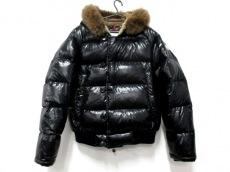 モンクレール ダウンジャケット サイズ2 M メンズ ブルガリ 黒 冬物