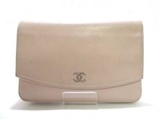 CHANEL(シャネル) 財布 キャビアスキン A46316 ライトピンク
