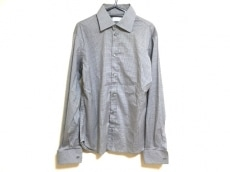 プラダ 長袖シャツ サイズ40 M メンズ美品  ライトブルー×ブラウン