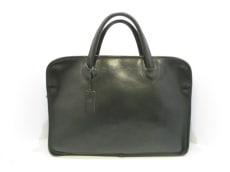 フェリージ ビジネスバッグ 1996 黒 3コンパートメント レザー
