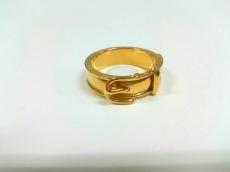 エルメス スカーフリング美品  ブックルセリエ 金属素材 ゴールド