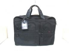 TUMI(トゥミ) ビジネスバッグ美品  26160DH 黒 TUMIナイロン×レザー