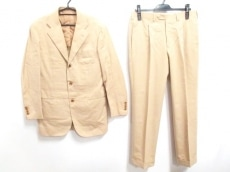 Kiton(キートン) シングルスーツ サイズ46 XL メンズ ライトブラウン