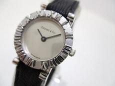 ティファニー 腕時計 アトラスラウンド D286753 レディース シルバー
