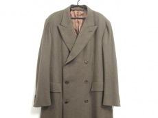 HERMES(エルメス) コート サイズ52 メンズ美品  ブラウン 冬物