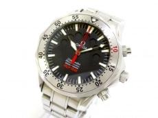 オメガ 腕時計 シーマスター アプネアマイヨール 2595.50 メンズ 黒