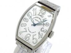 フランクミュラー 腕時計 カサブランカ 5850 メンズ SS 白