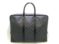 ルイヴィトン ビジネスバッグ ダミエグラフィット美品  N41125
