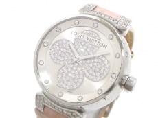 ヴィトン 腕時計 タンブール フォーエヴァー Q131P レディース