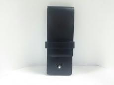MONTBLANC(モンブラン) ペンケース 黒 レザー