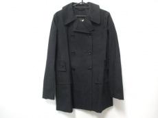 ルイヴィトン コート サイズ40 M レディース 黒 MACKINTOSH/春・秋物