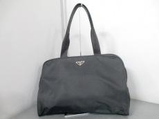 PRADA(プラダ) ビジネスバッグ - B7797 黒 ナイロン×レザー