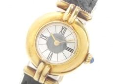 カルティエ 腕時計 ヴェルメイユ W100065301 レディース 革ベルト