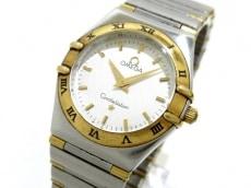 オメガ 腕時計 コンステレーションミニ 1362.30 レディース 白