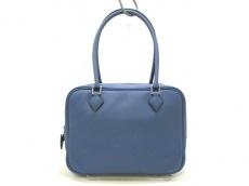 HERMES(エルメス) ハンドバッグ美品  プリュム20 ブルーアガット