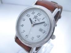 IL BISONTE(イルビゾンテ) 腕時計 - レディース 革ベルト 白