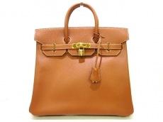 エルメス ハンドバッグ美品  オータクロア32 ゴールド ゴールド金具