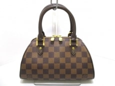 ルイヴィトン ハンドバッグ ダミエ美品  リベラ・ミニ N41436 エベヌ