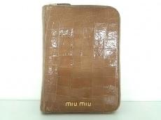 miumiu(ミュウミュウ)/手帳