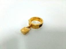 HERMES(エルメス) スカーフリング ケリー 金属素材×レザー